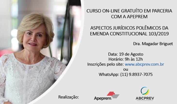 Curso: Aspectos Jurídicos Polêmicos da EC 103/2019