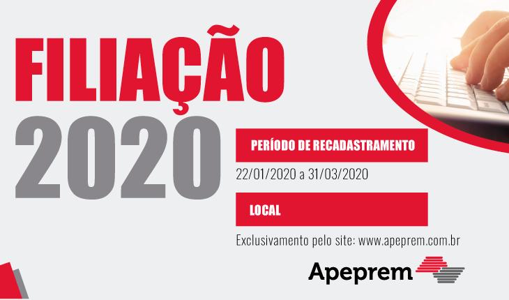 Filiação 2020