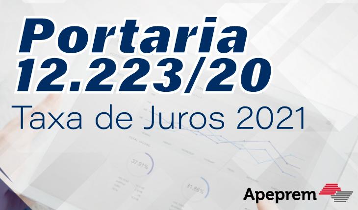 Portaria Nº 12.223, de 14 de Maio de 2020