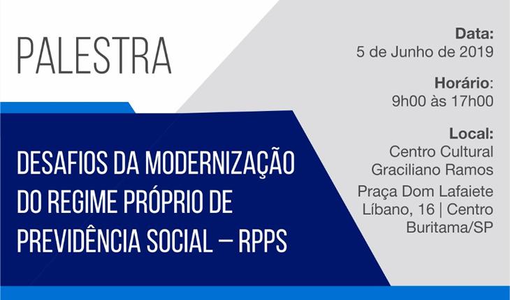 Desafios da modernização do RPPS